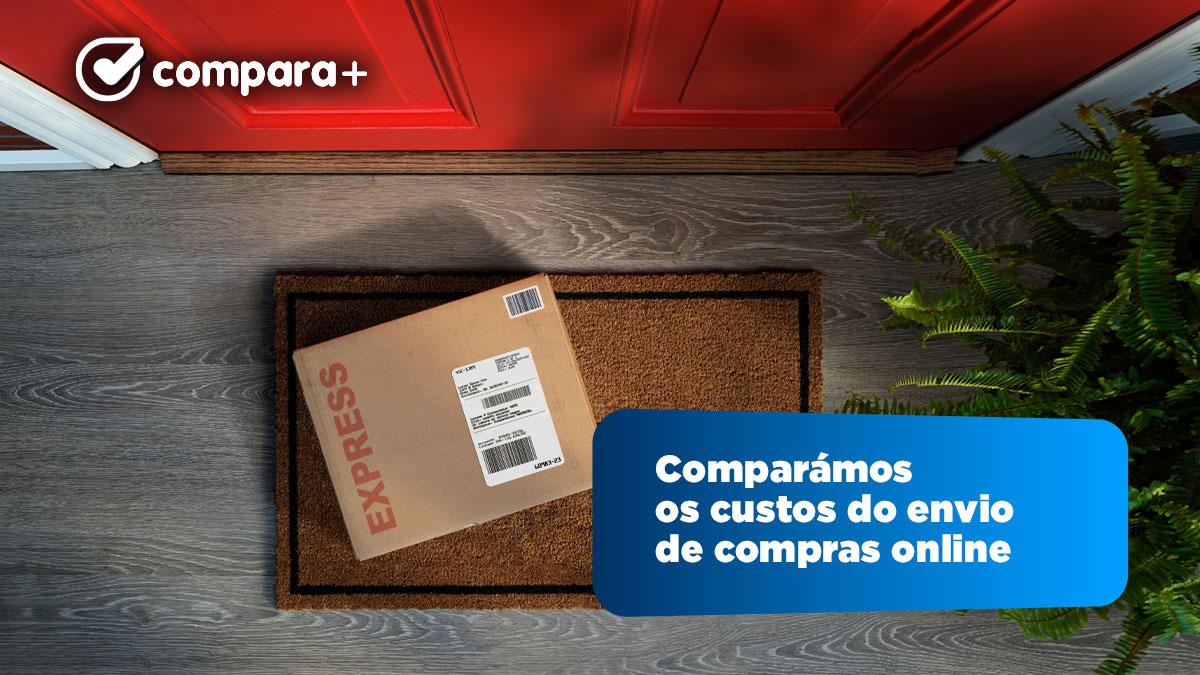 Custos de envio de compras online