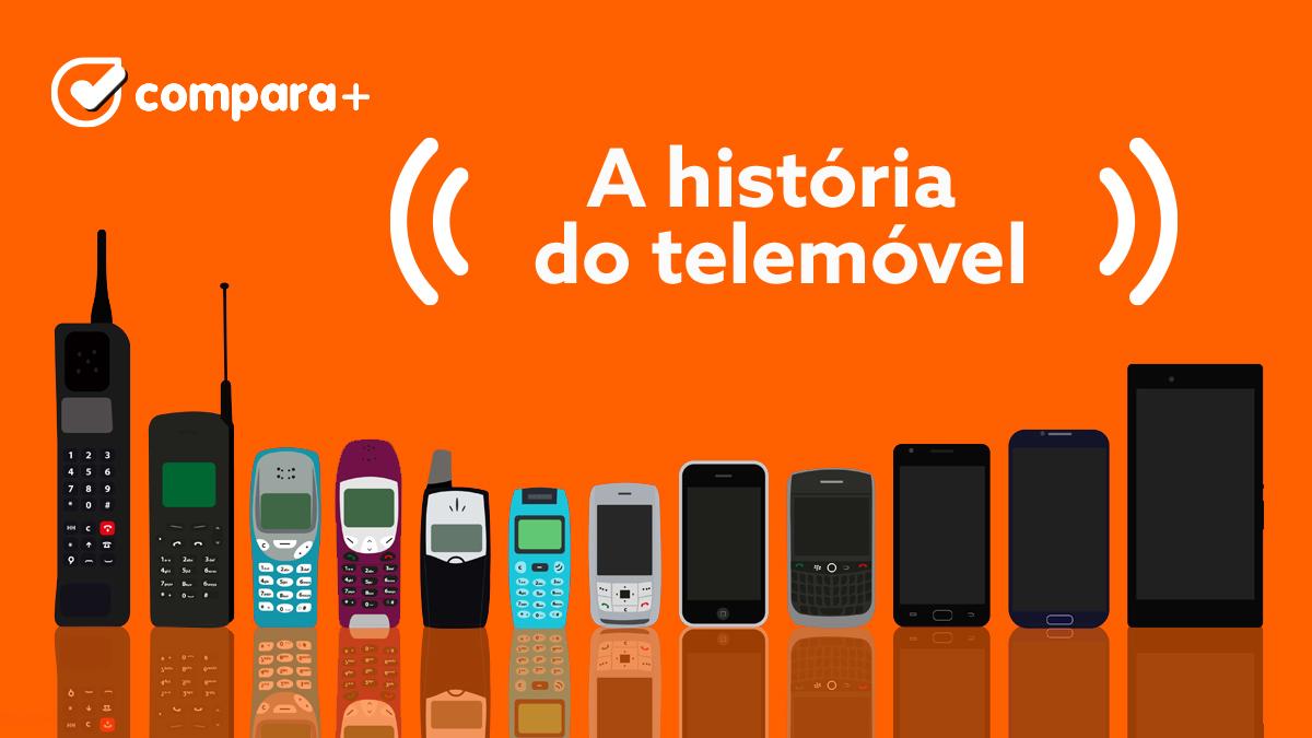 A história dos telemóveis