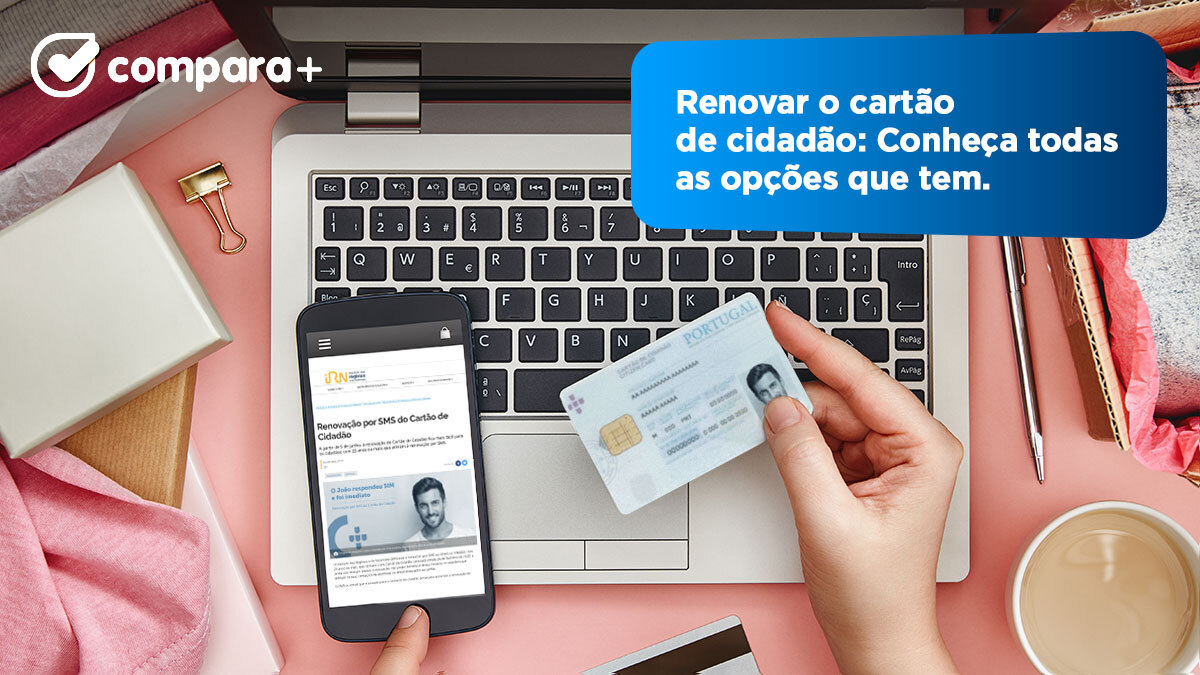 Como renovar o cartão de cidadão online ou presencialmente