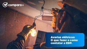 O que fazer em caso de avarias elétricas