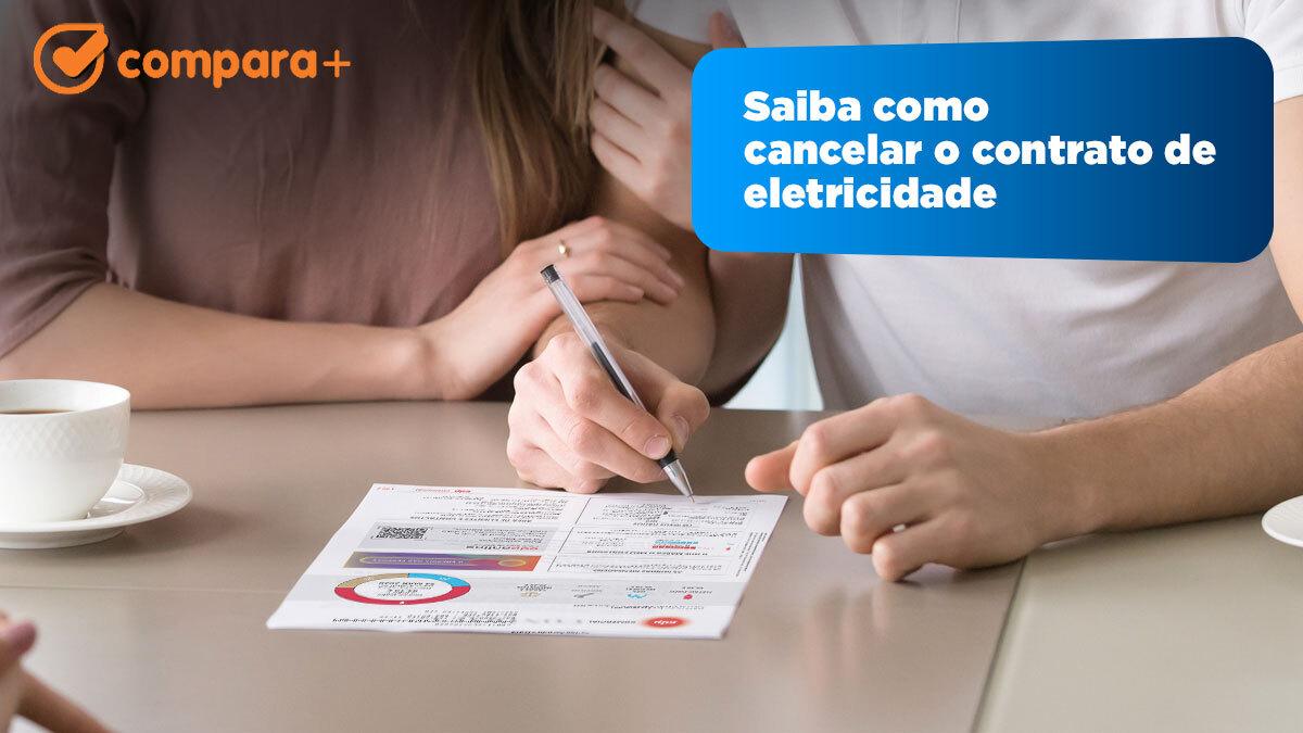 Como cancelar o contrato de eletricidade