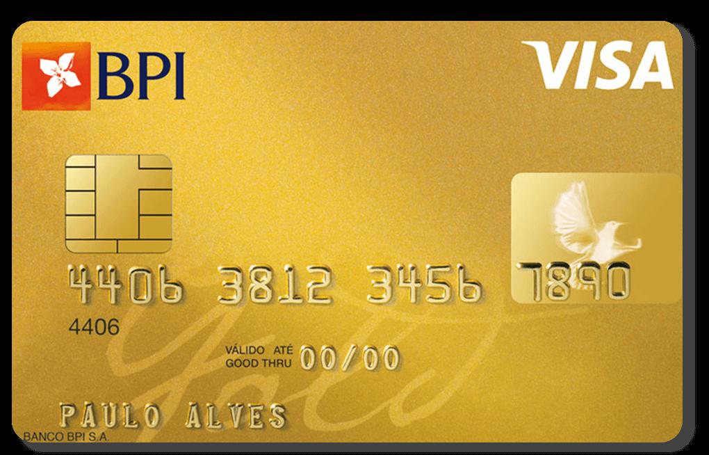 Cartão BPI Gold