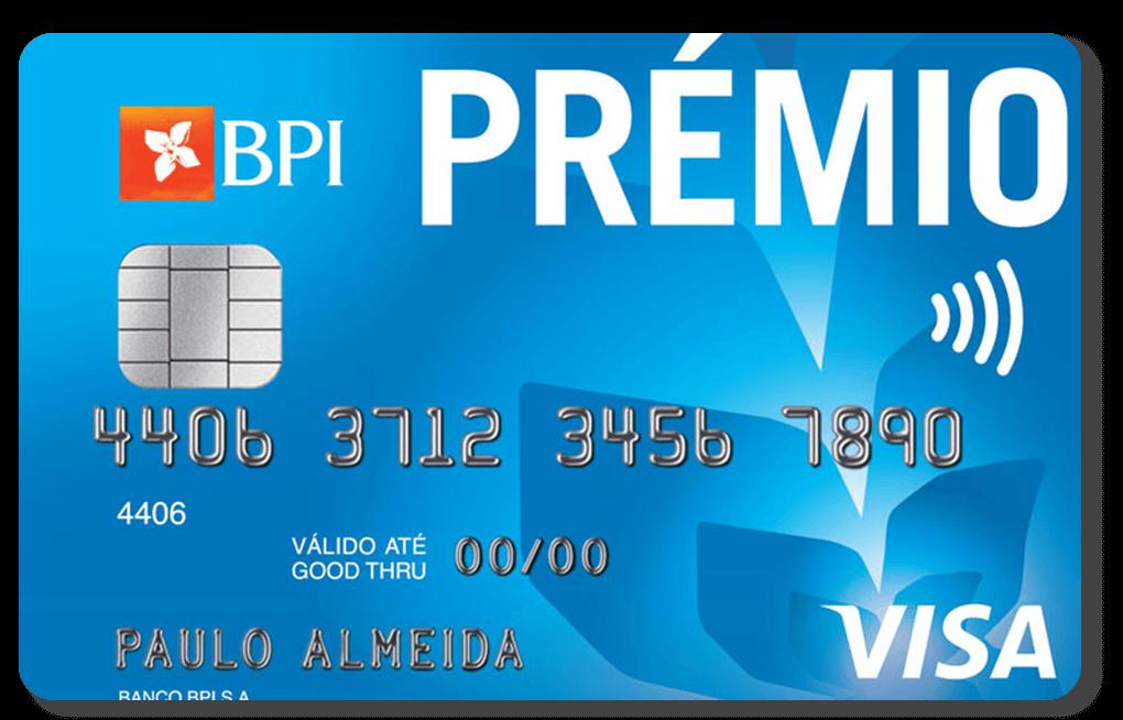 Cartões de crédito com maior cashback: BPI prémio