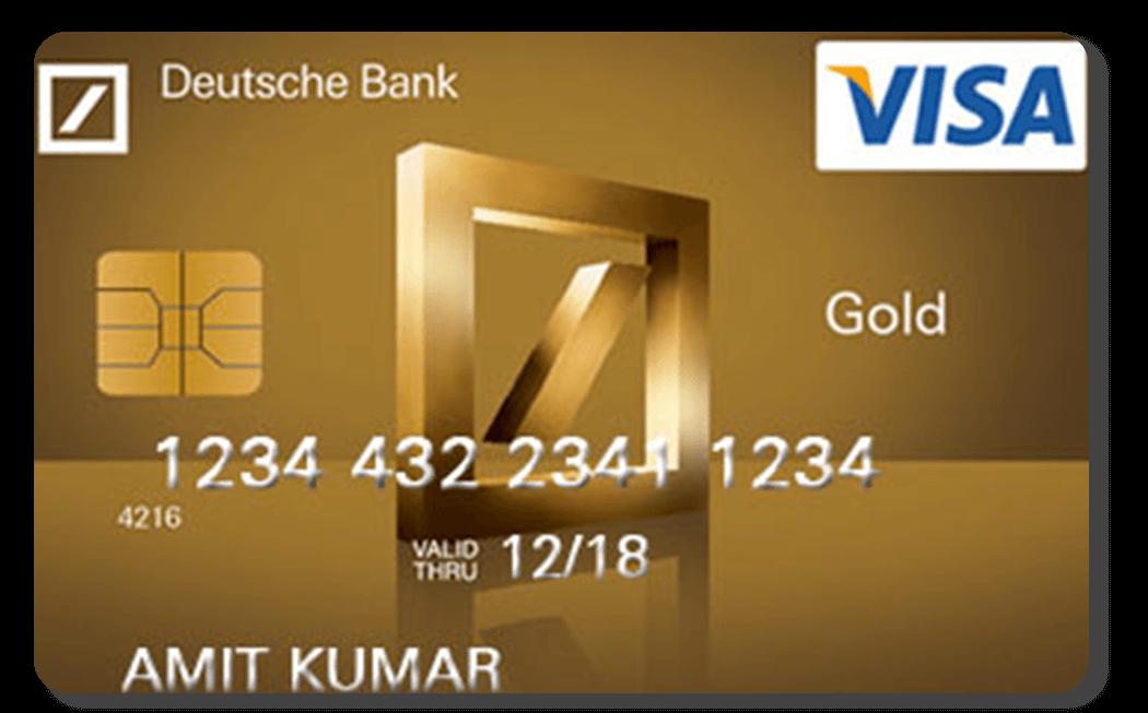 Cartão Deutsche Bank Gold
