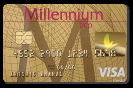 Cartão Millennium BCP Gold Gémeos