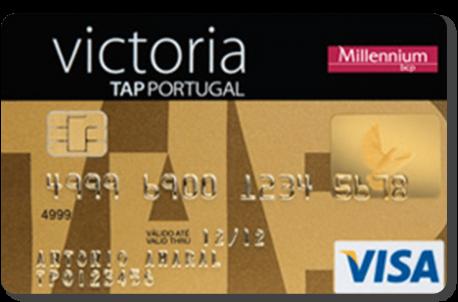 Cartão Millennium TAP Gold
