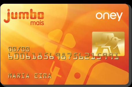 Cartão Oney Jumbo