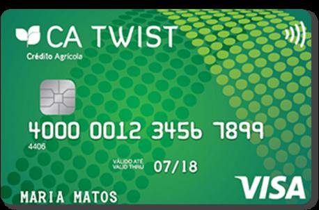 Cartão Twist Crédito Agrícola