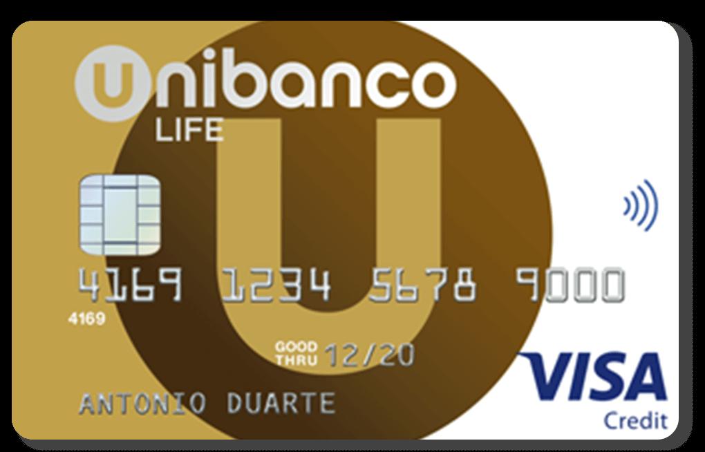 Cartão Unibanco Life