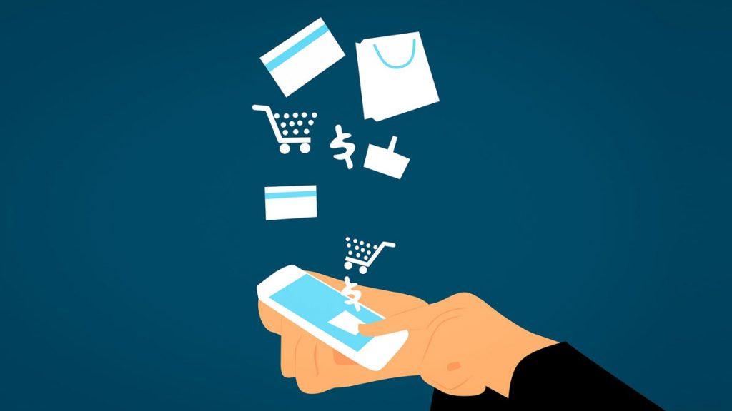 O comércio online é uma solução durante o Covid-19