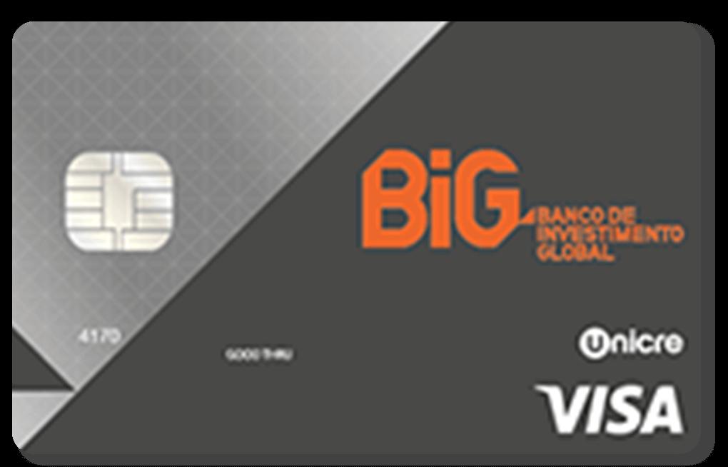 Cartão Visa BiG