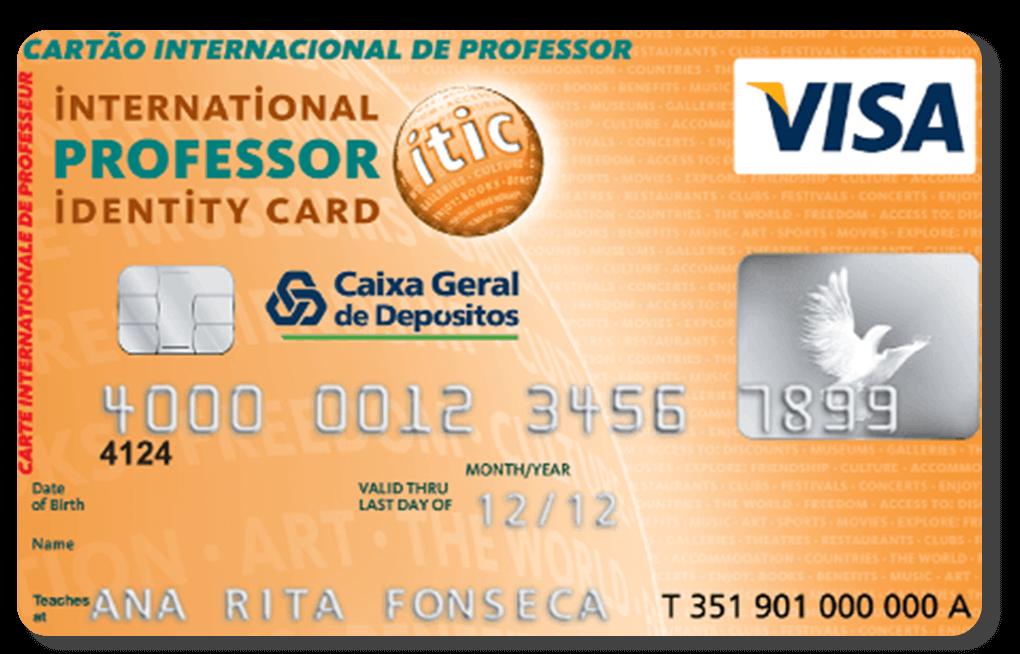 Cartão Caixa ISIC
