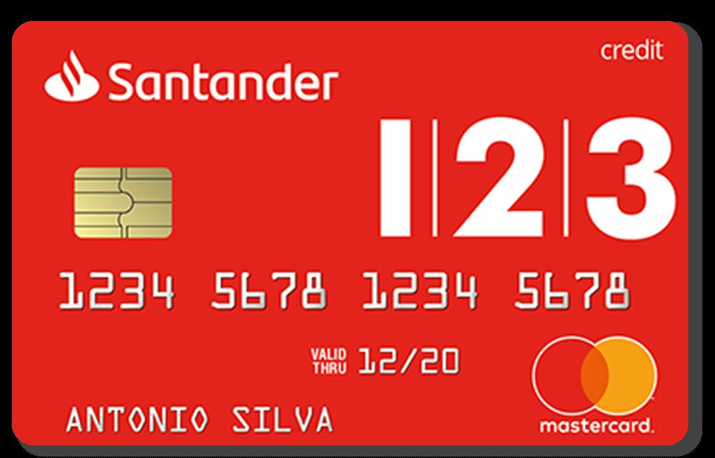 Cartão Santander Totta Mundo 123