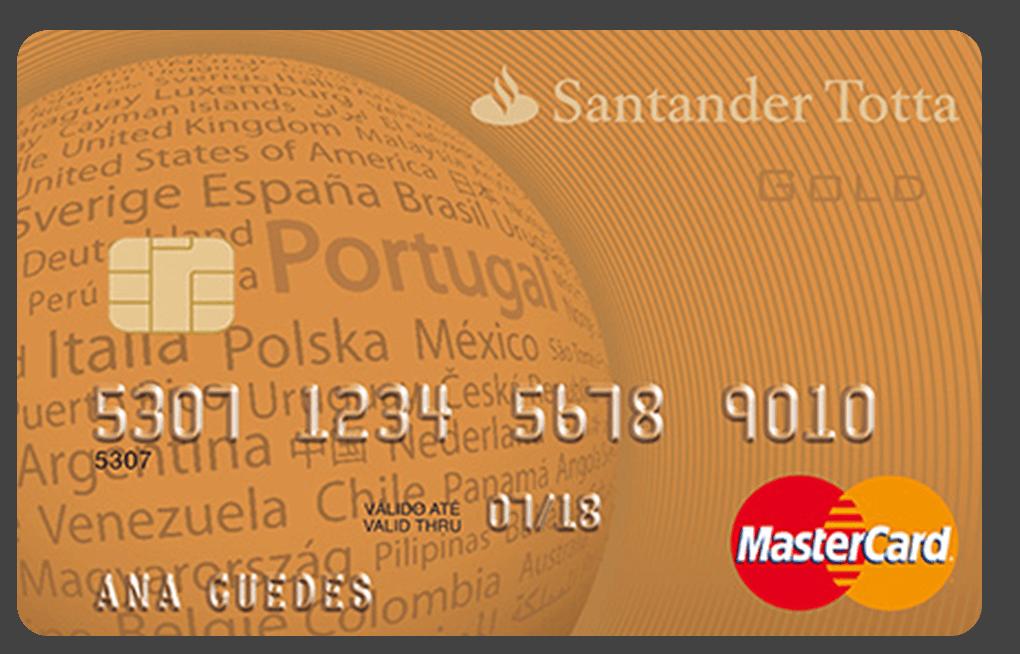 Cartão Santander Gold