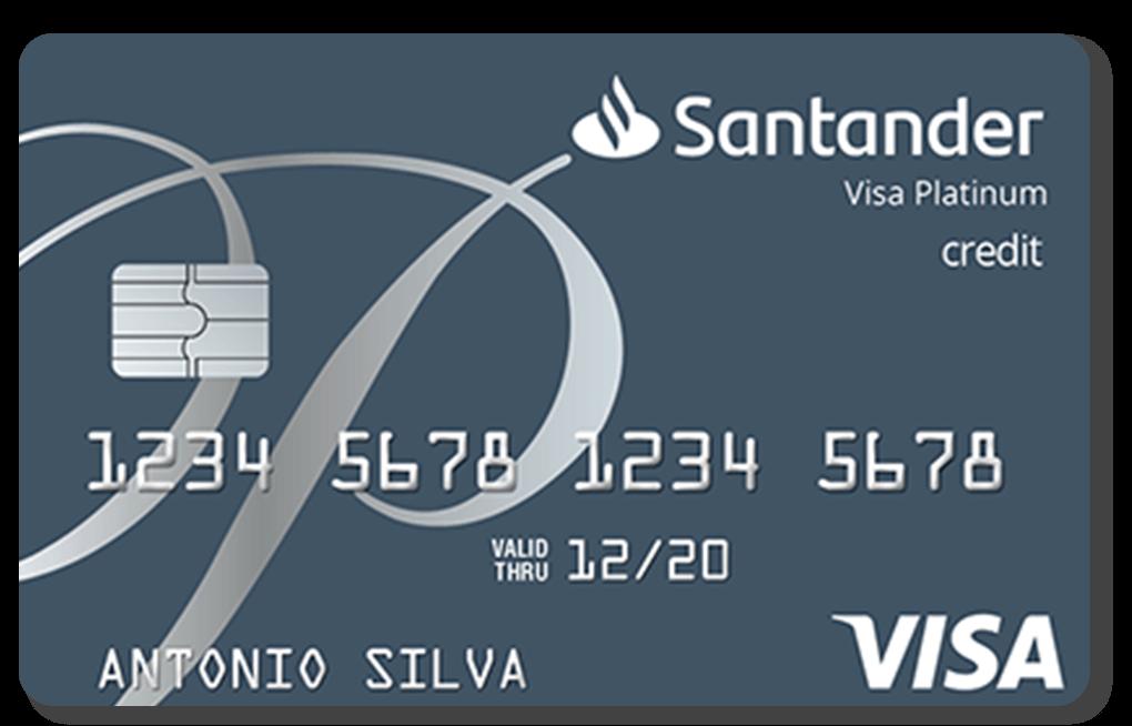 Cartão Santander Platinum