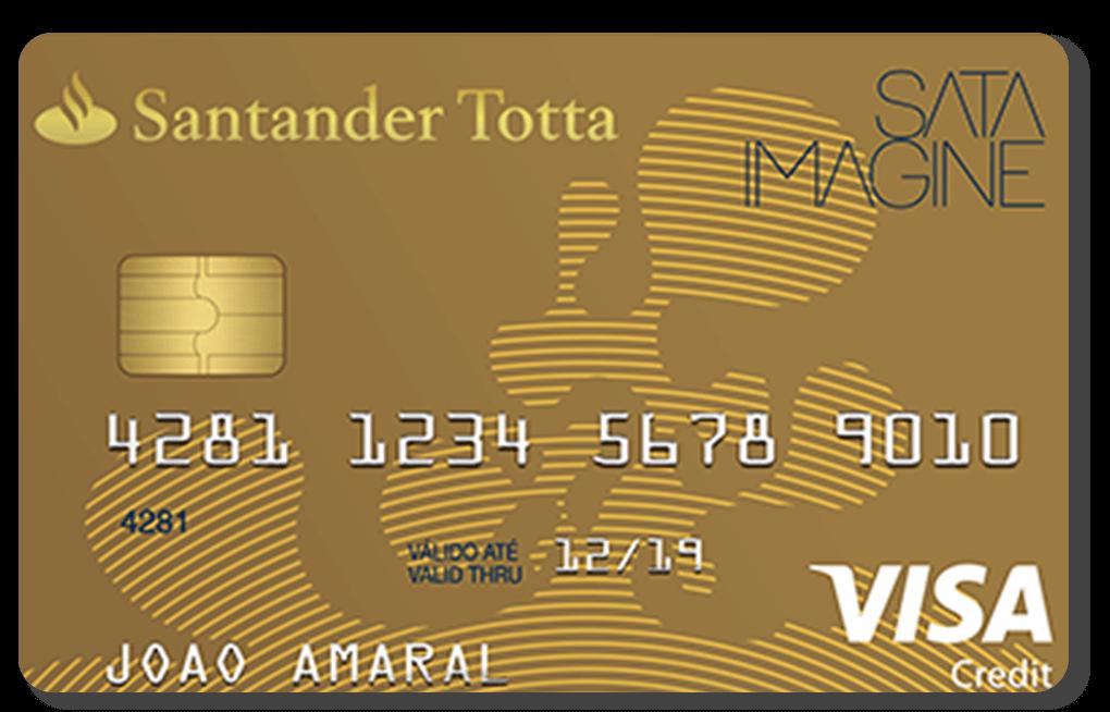 Cartão Santander SATA Gold