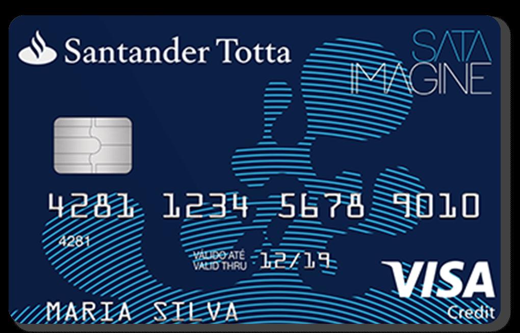 Cartão Santander SATA Blue
