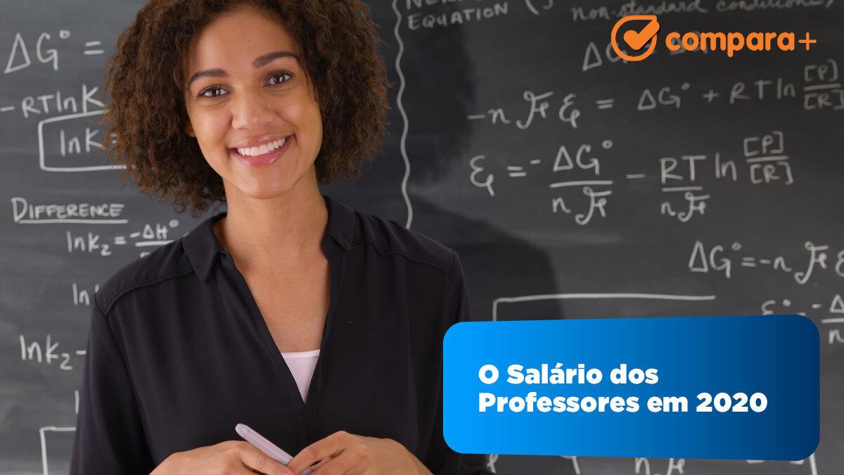 Os salários dos professores em 2020
