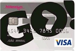 Cartão Millennium BCP GO!