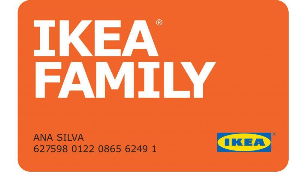 Cartão IKEA Family