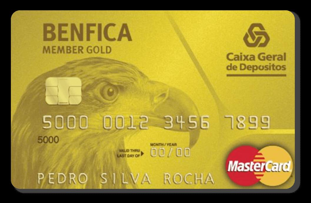 Cartão Benfica Member Gold