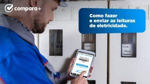 Como enviar as leituras de eletricidade