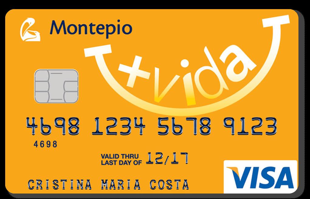 Cartão de Crédito Montepio +Vida
