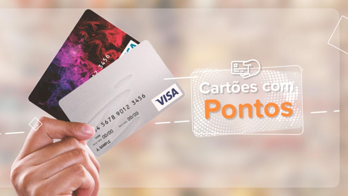 Cartões de créditos com pontos