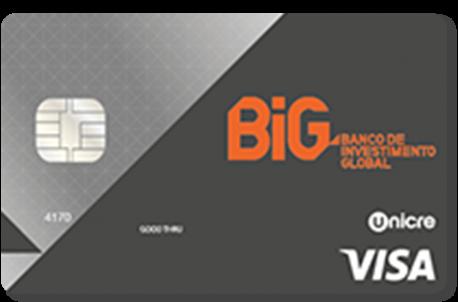 cartão de crédito visa big