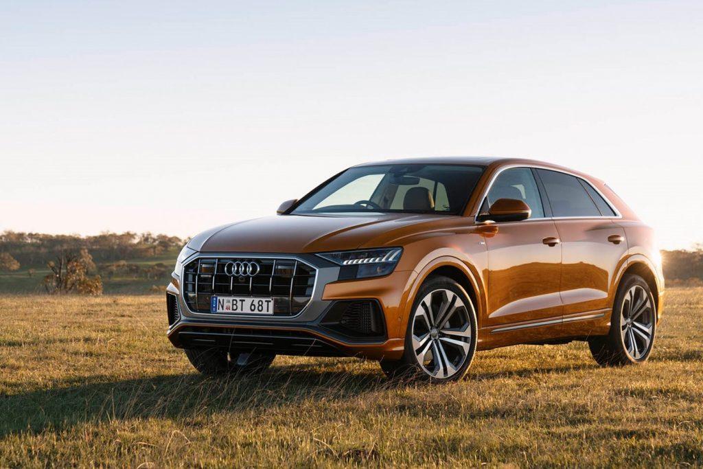 O SUV topo de gama Audi Q8 também está no topo dos carros que menos perdem valor após a compra