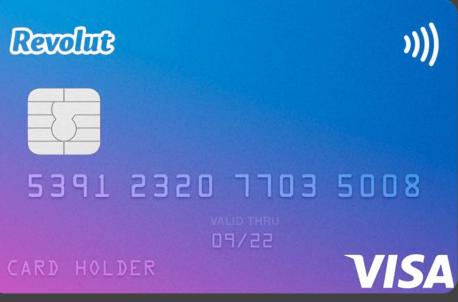 Cartão Revolut Standard