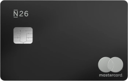 Cartão N26 Metal