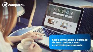 Aprenda a pedir a certidão de teor online e onde usar este documento