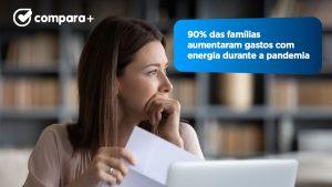 Fatura de luz sobe em 90% das casas por causa da Covid-19