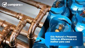 Gás natural e Gás propano: veja as diferenças e qual é melhor para casa
