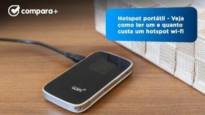 Hotspot portátil - Saiba quanto custam os routers de internet móvel das operadoras