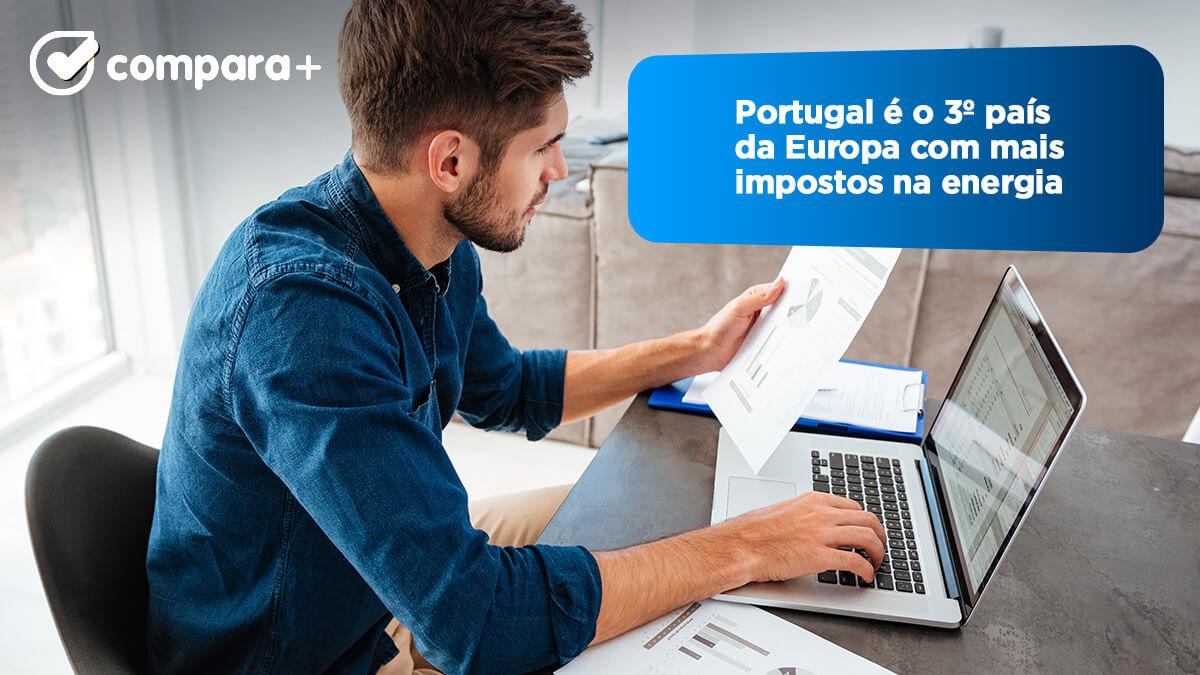preço da eletricidade na Europa e em Portugal