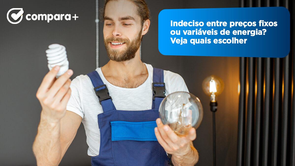 preços variáveis de eletricidade
