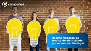 Há uma pessoa a mudar a eletricidade a cada minuto em Portugal