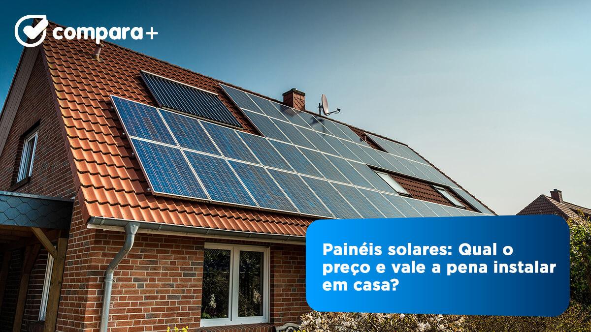 Quanto custam os painéis solares