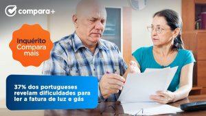 37% dos portugueses tem dificuldade para ler a fatura de energia
