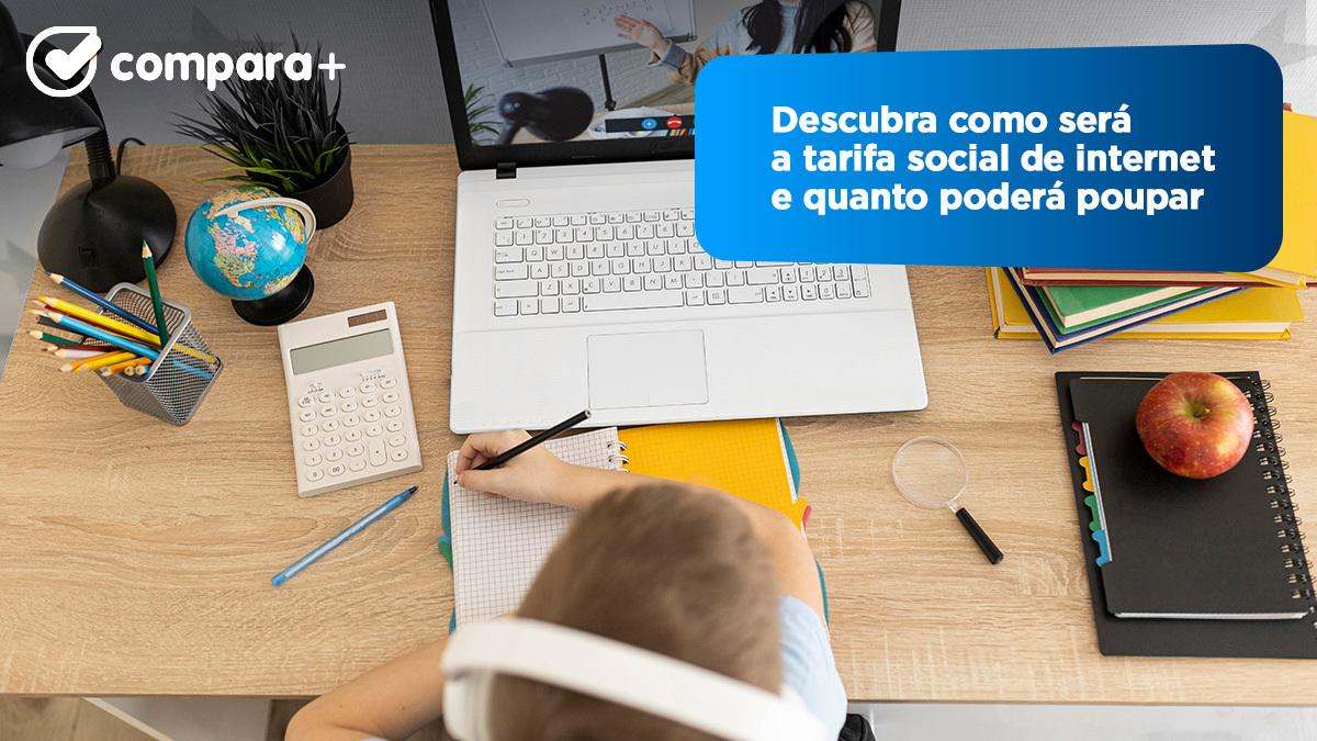 Saiba como vai funcionar a tarifa social de internet