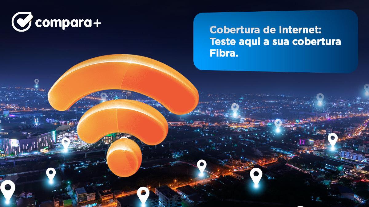 Teste a cobertura fibra de todos os operadores para sua casa