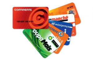 Cartões de cliente