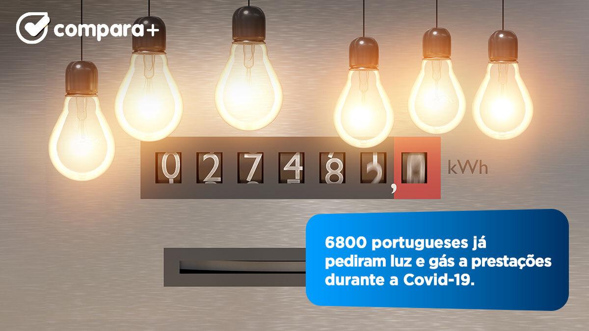 6800 pedem para pagar luz e gás a prestações na Covid-19