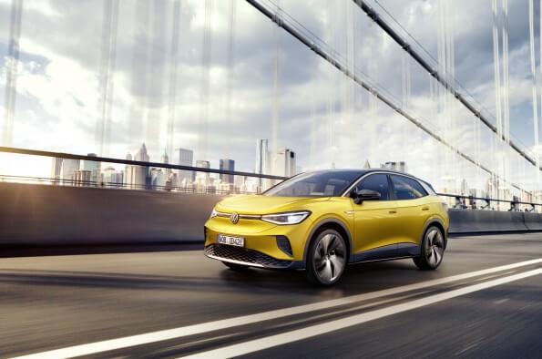 Volkswagen ID4 - Carros novos para 2021